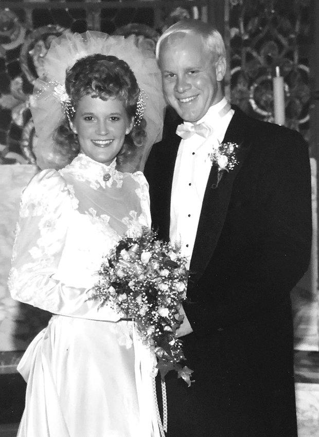 Mr. and Mrs. Todd Gehrls