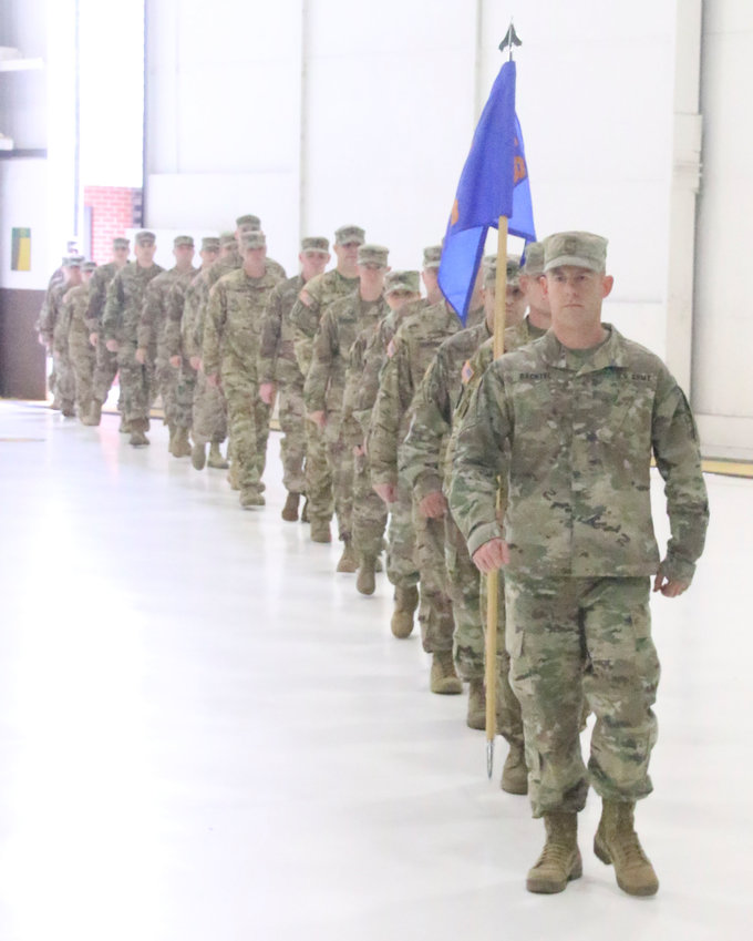 Even though some of the soldiers had been home for nearly two months, almost 200 people turned out on Friday for the official homecoming of the Iowa National Guard 248th Aviation Support Battalion. Several dignitaries were on hand at the Davenport Army Aviation Support Facility in Mt. Joy, including Iowa Gov. Kim Reynolds, U.S. Rep. Dave Loebsack and Davenport Mayor Frank Klipsch.
