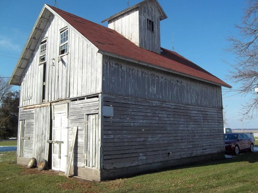 Kathleen and Harry Wierzba plan to renovate this unused corn crib as guest quarters for their kids, grandkids and great-grandkids.