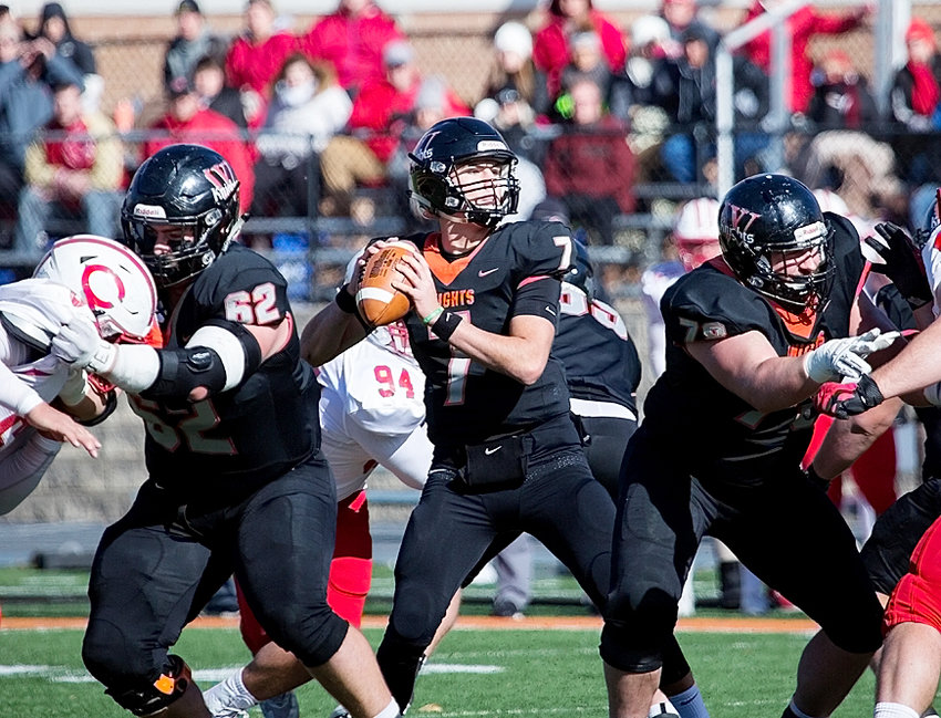 For the second straight year, Wartburg senior Matt Sacia was a finalist for the Gagliardi Trophy, which goes to the top football player in NCAA Division III.