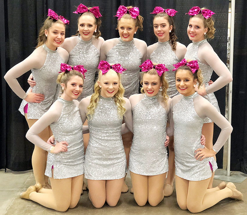 The Wilton Stepperettes are planning for their annual Spring Show March 16 at 6 p.m. in the Wilton High School gym. Team members include: front row (from left) Lilly Wyatt, Tessa Bartell, Emily Fausel and Natalie Huston; back row, Jayden Everson, Ellie Hugunin, Karlie Schult, Mallory Lange and Ansley Boorn. The Stepperettes are coached by Lisa Taylor-Furne and Kacey Ragatz.