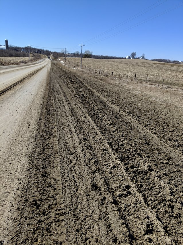 Rural roads are in poor condition following a winter that produced record-breaking snowfall. Cedar County has requested a voluntary embargo of gravel roads, including 290th Street while the roads are soft.