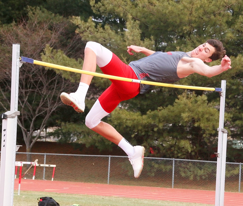 Lancer junior Trent Allard is a two-time state qualifier in the high jump, and he opened the season with a second-place finish at the Lancer Early Bird Invitational on Tuesday, March 19.