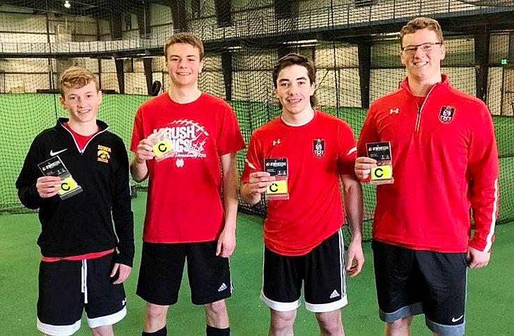Leadership will be a key to North Scott's success on the pitch, and these four individuals were named captains. From left: Sophomore Chase Porter, senior Colin Wiersema, junior Thade Gottschalk and senior Isaac Neymeyer.