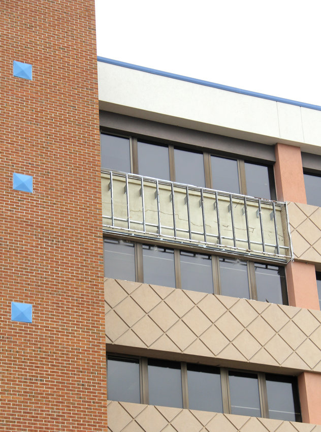 Failing panels prompted more extensive repairs and maintenance on the County Administration Center.