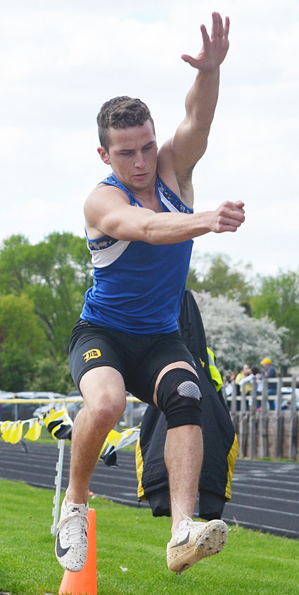 Durant's Mason Compton will jump at state for the second straight year May 16.