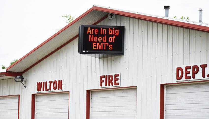 "Local Emergency Medical Services (EMS) are recognizing National EMS Week this week (May 19-25). For weeks, electronic signage at the Wilton Fire Department has displayed the following message: ""Wilton Fire/EMS are in need of EMTs, apply down at City Hall."" Both Wilton and Durant are dealing with a shortage of volunteers."