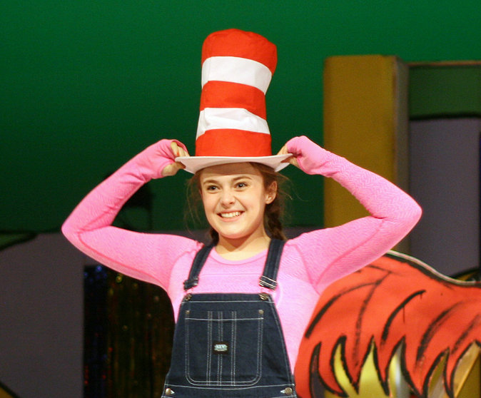 "Grace Sampson is among the Lancer Productions students being honored for their work in ""Seussical"" by the Iowa High School Musical Theater Awards Showcase."