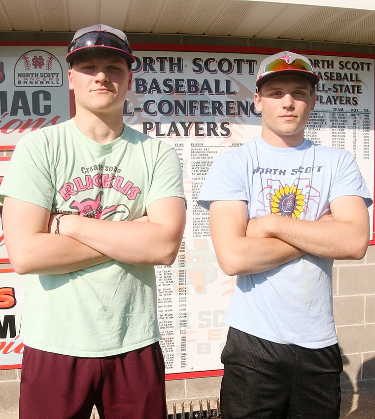 Juniors Grayson Drezek and Jake Matthaidess will lead what should be a strong pitching corps.