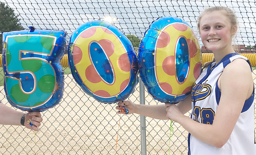 Durant senior pitcher Kamryn Meyer struck out her 500th career batter in the Wildcats' home opener May 22. She picked up the win over Davenport West and was presented with balloons afterward. For the second straight season, Durant starts the season ranked No. 1 in Class 2A.