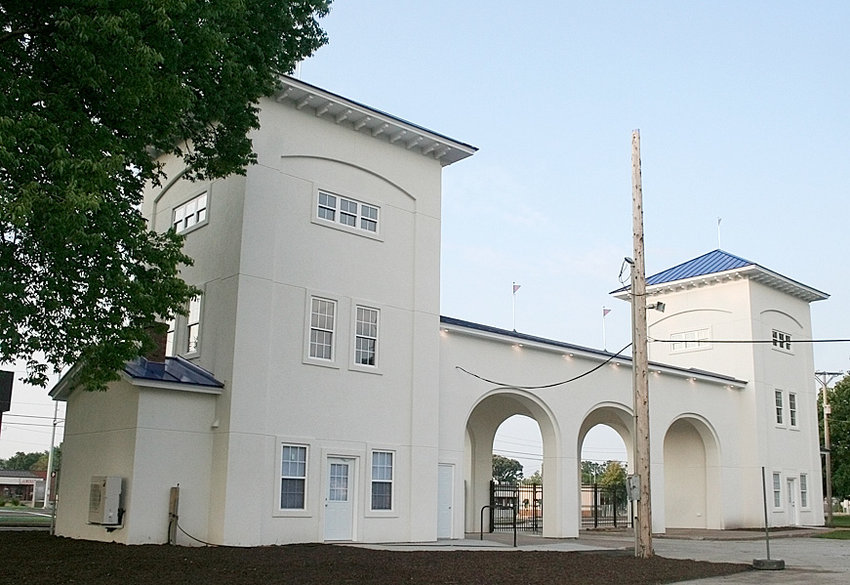 One of the first things visitors will notice when they visit next week's Mississippi Valley Fair will be the refurbished Twin Towers at the main entrance.