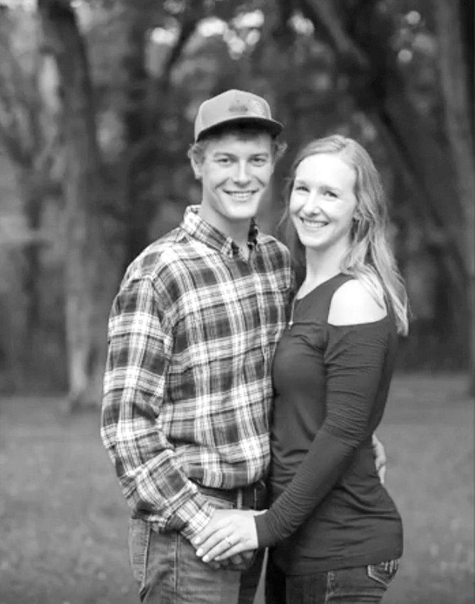 Cody Berg and Caitlin O'Neill