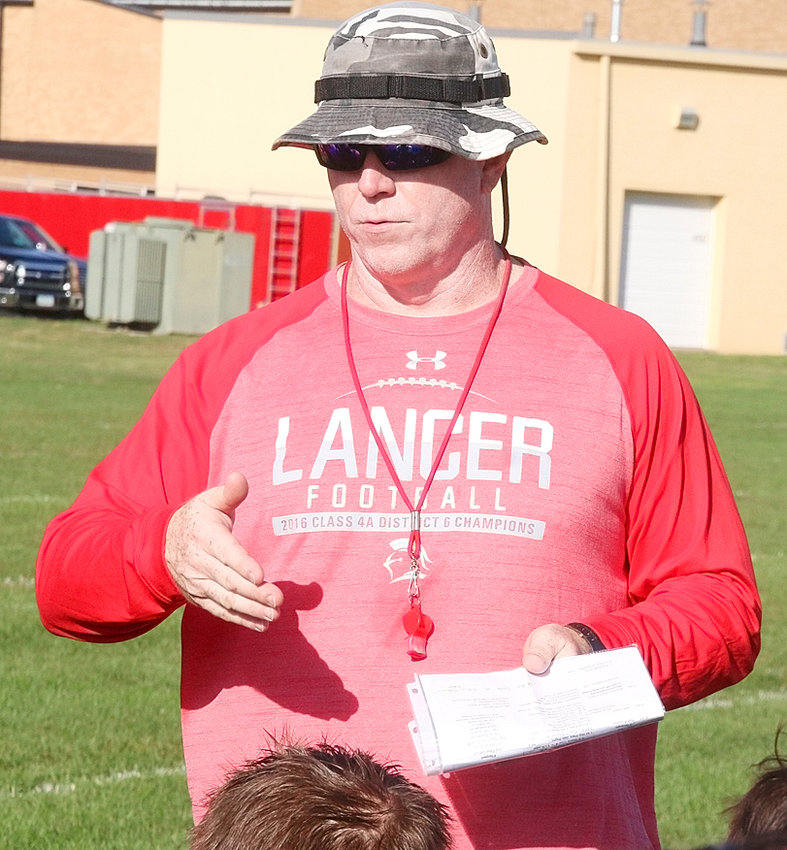 Lancer coach Kevin Tippet