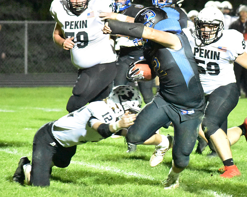 Drew DeLong finally got back to carrying the ball after coming back from wrist surgery.