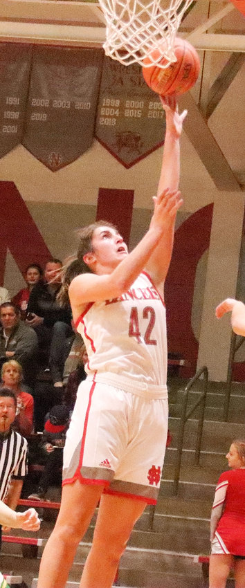 Lancer senior Grace Boffeli set a new school record with her 37-point outing in the season-opening win over Cedar Rapids Kennedy on Tuesday (Nov. 26).