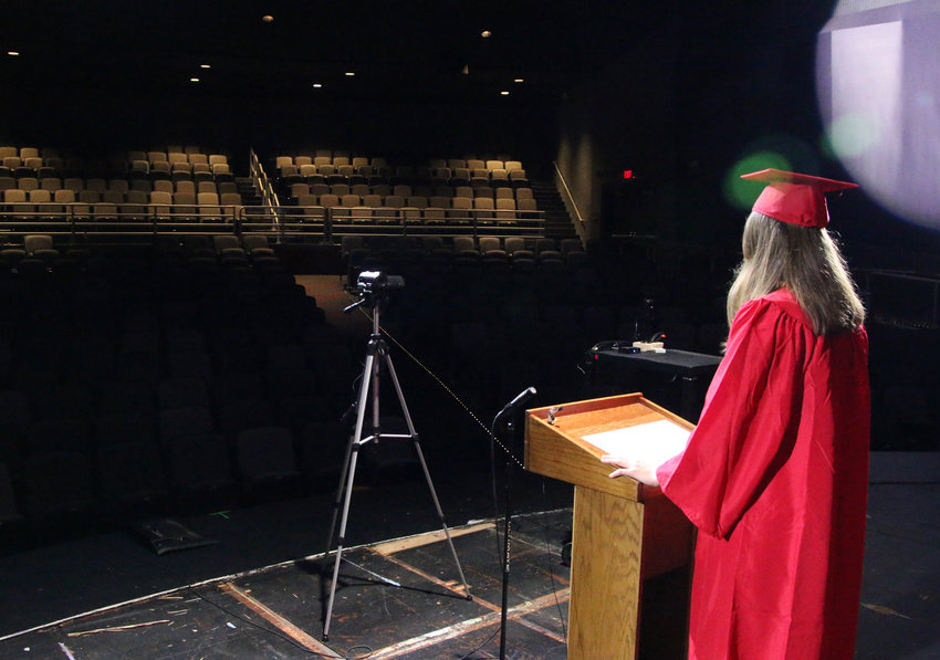 Jenna Willet is among five commencement speakers who recorded their graduation messages. We share excerpts with their permission today.