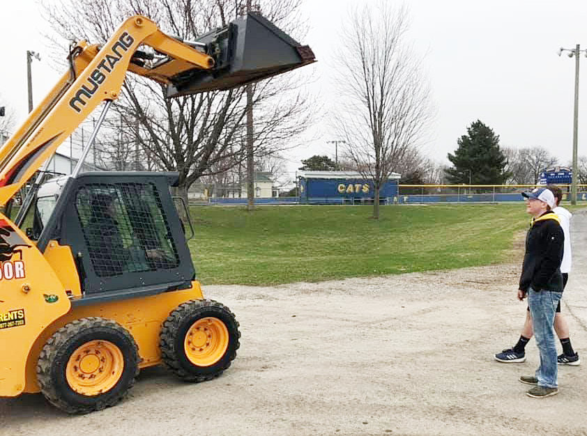 The Durant industrial arts program has its own skid steer thanks to multiple grants and donations from several area entities. The piece of machinery will be useful in the ACE Mentoring program, where students help build houses. It will also be part of a residential construction class.