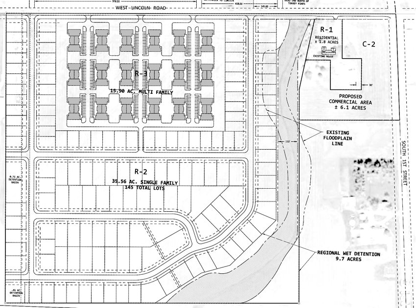 Dale Grunwald is asking Eldridge council members to consider this development at South First Street and Lincoln Road.