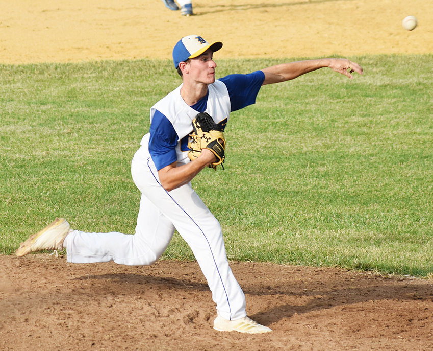 Durant's Nate Dierickx has thrown two Friday night shutouts to begin his trek on the mound this season, including a 3-0 win over North Cedar June 26.