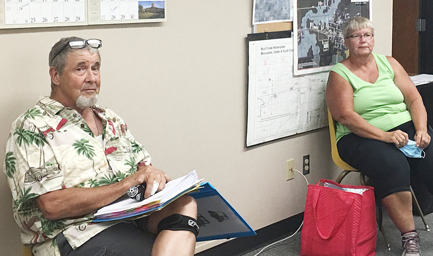 Russ Price and Terri Buhman were on hand to present a petition requesting Durant allow the usage of golf carts and ATVs on city streets. After lengthy discussion, the issue was tabled until the upcoming Aug. 24 meeting.