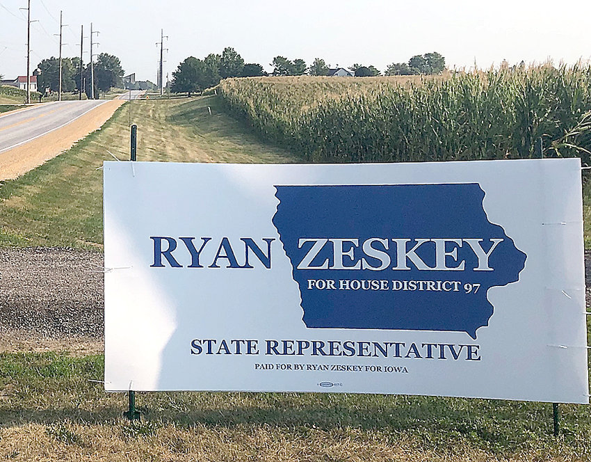 Ryan Zeskey of LeClaire is a candidate for the Iowa House of Representatives in District 97, which covers eastern and northern Scott County, and Clinton County.