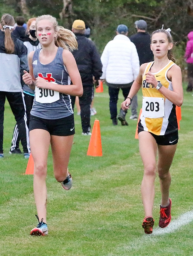 Lancer sophomore Bailey Boddicker qualified for the state meet with a 10th-place finish at last week's Class 3A district meet.