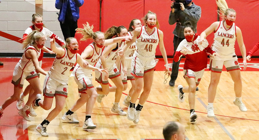There was plenty of excitement in The Pit as the buzzer sounded and the Lancers booked their third straight trip to the state tournament in Des Moines.
