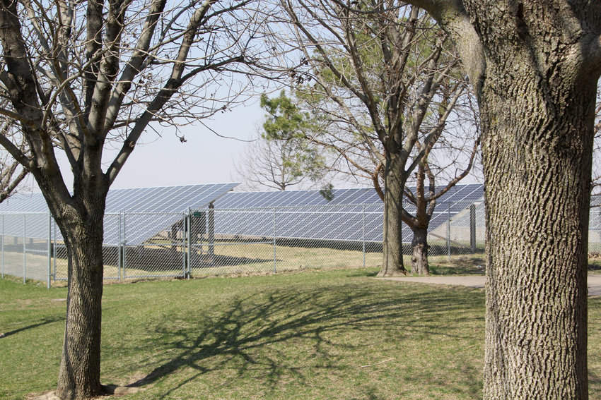 Solar panels are trimming $20,000 a year from Glenn Elementary utility bills.