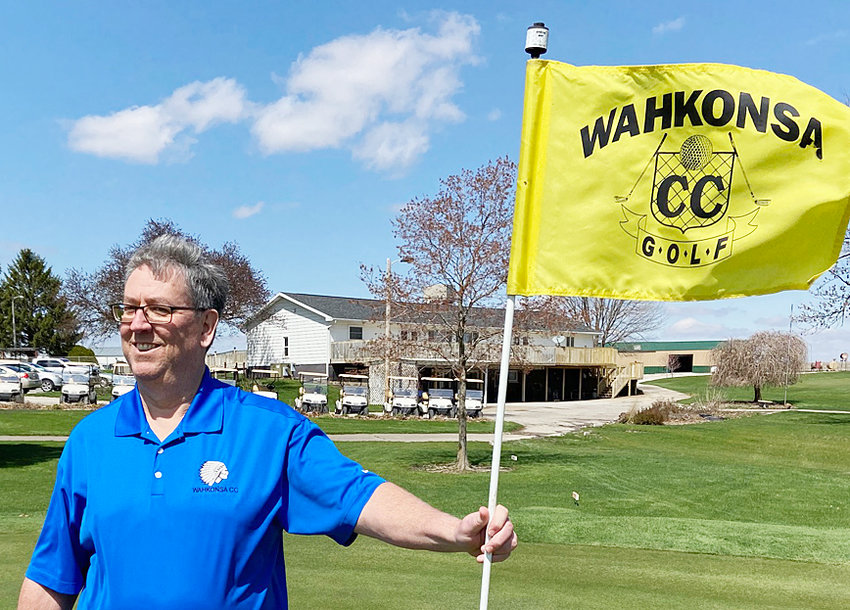 Tim Howell of Wilton was recently named the new manager of Wahkonsa Country Club. He comes to Wahkonsa after a 28-year career at Alliant Energy. A lifelong golfer, Howell has been a member at Wahkonsa for 20 years.