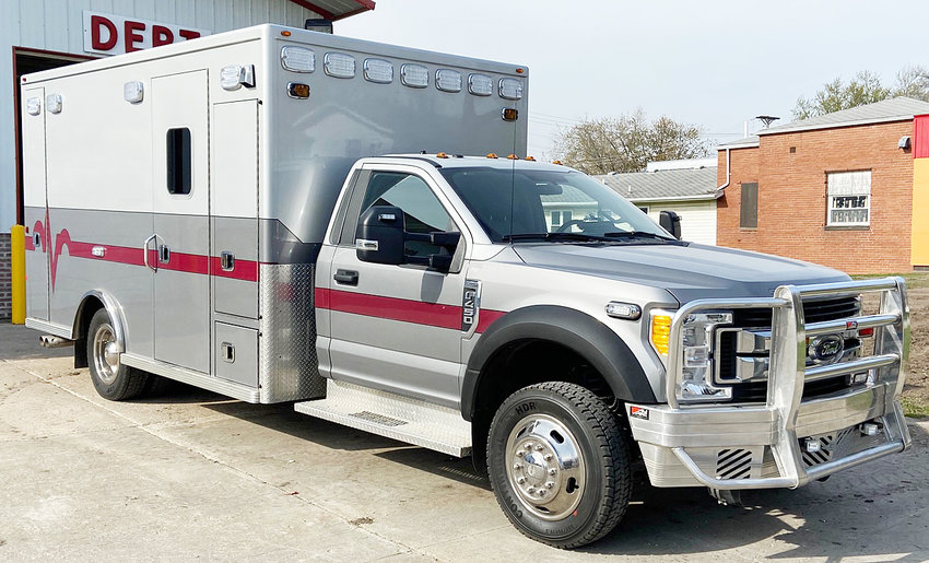 The Wilton Fire Department received approval to purchase the 2017 Ford F450 ambulance pictured above, with plans to begin a Wilton ambulance service by July 1.