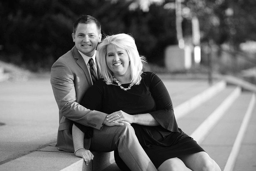 Brad Hartkopf and Brooke Slagle