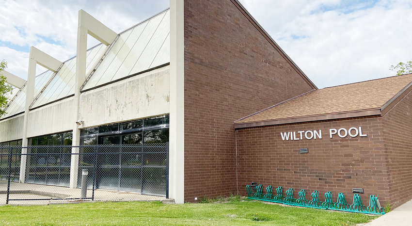 A view of the Wilton Pool, which opened in 1980 and is closed for repairs.