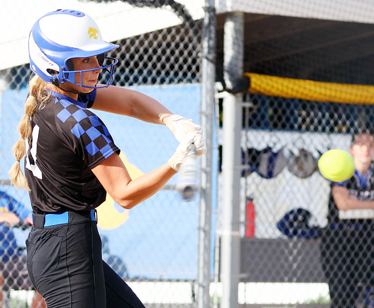 Durant's Halle Collier had two RBIs in a 6-4 win over Bondurant-Farrar May 29.