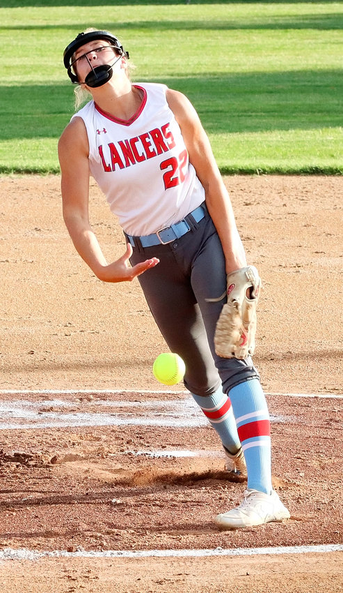 Sophomore Maddy McDermott picked up the win in the regional opener against Clinton, and then fanned 11 in Saturday's 6-1 semifinal loss to Marion.