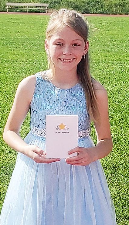 Samantha Chovanec was presented the Ed White Citizenship Award.