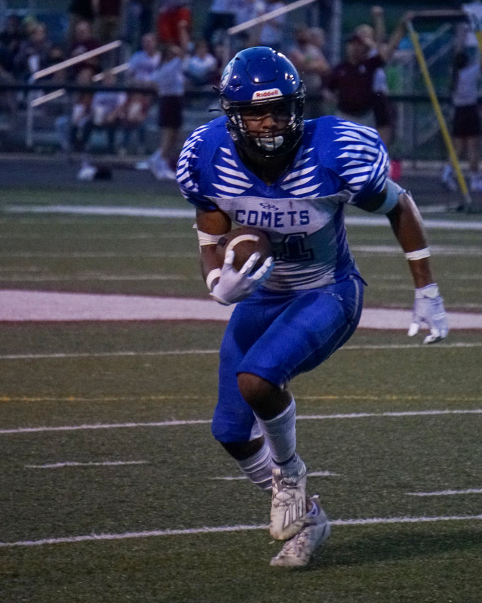 Jahsiah Galvan is helping the Comets get stronger every game, hoping for their first win Friday at Camache.