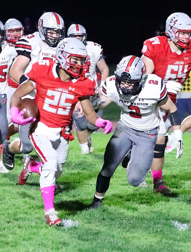 It was a big night for senior Darnell Butler as he contributed 166 yards of total offense, including 136 on the ground.