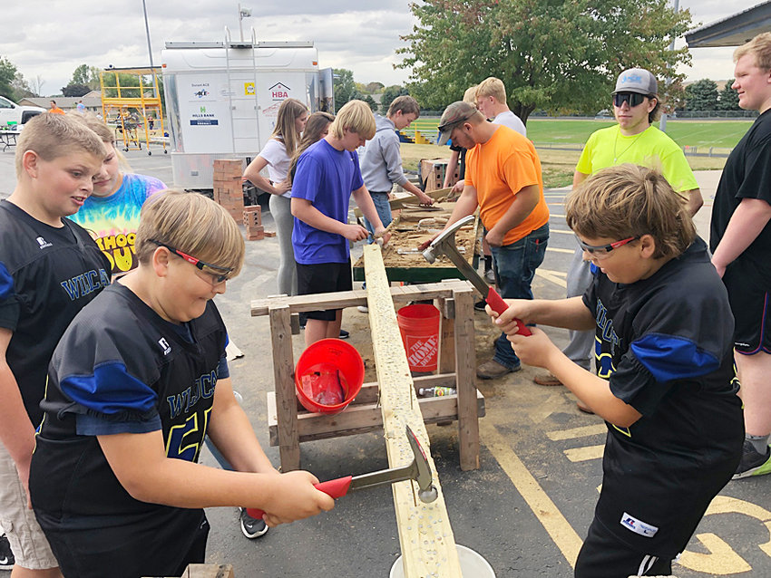 """Durant students took part in several hands-on experiences during """"Celebrate the Trades Day"""" held Oct. 5 at Durant High School."""