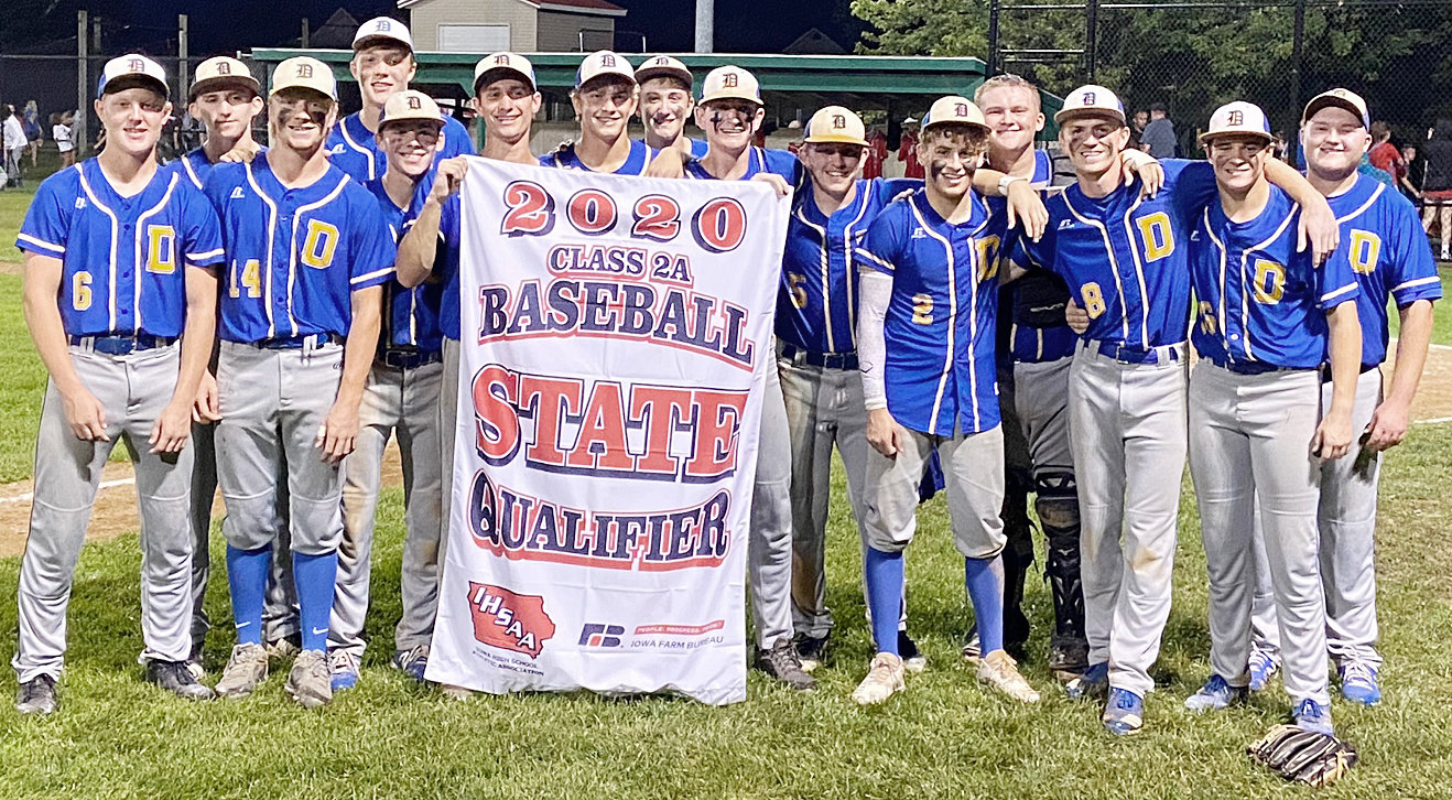 The Durant baseball team qualified for the Class 2A state tournament with a 6-0 win over Monticello in Substate July 21.