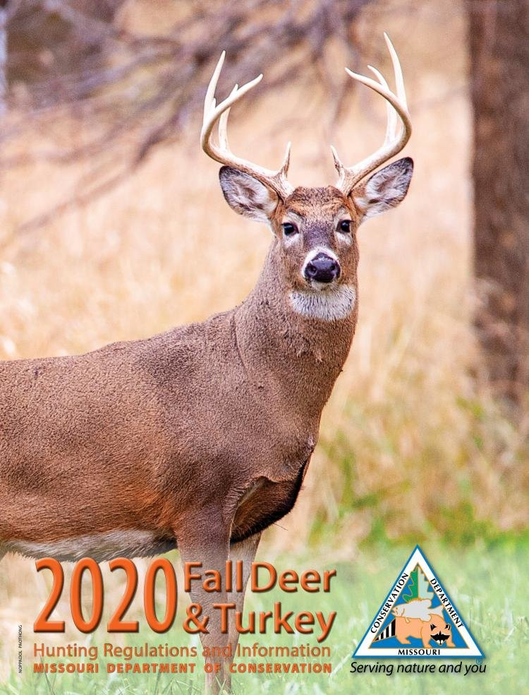 Additional baiting regulations can be found in MDC's 2020 Fall Deer & Turkey Hunting Regulations & Information Booklet and online at mdc.mo.gov.