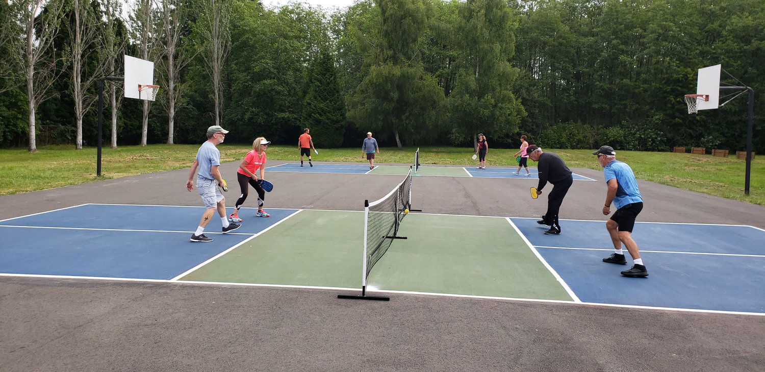 Pickleball is said to be one of America's fastest growing sports.