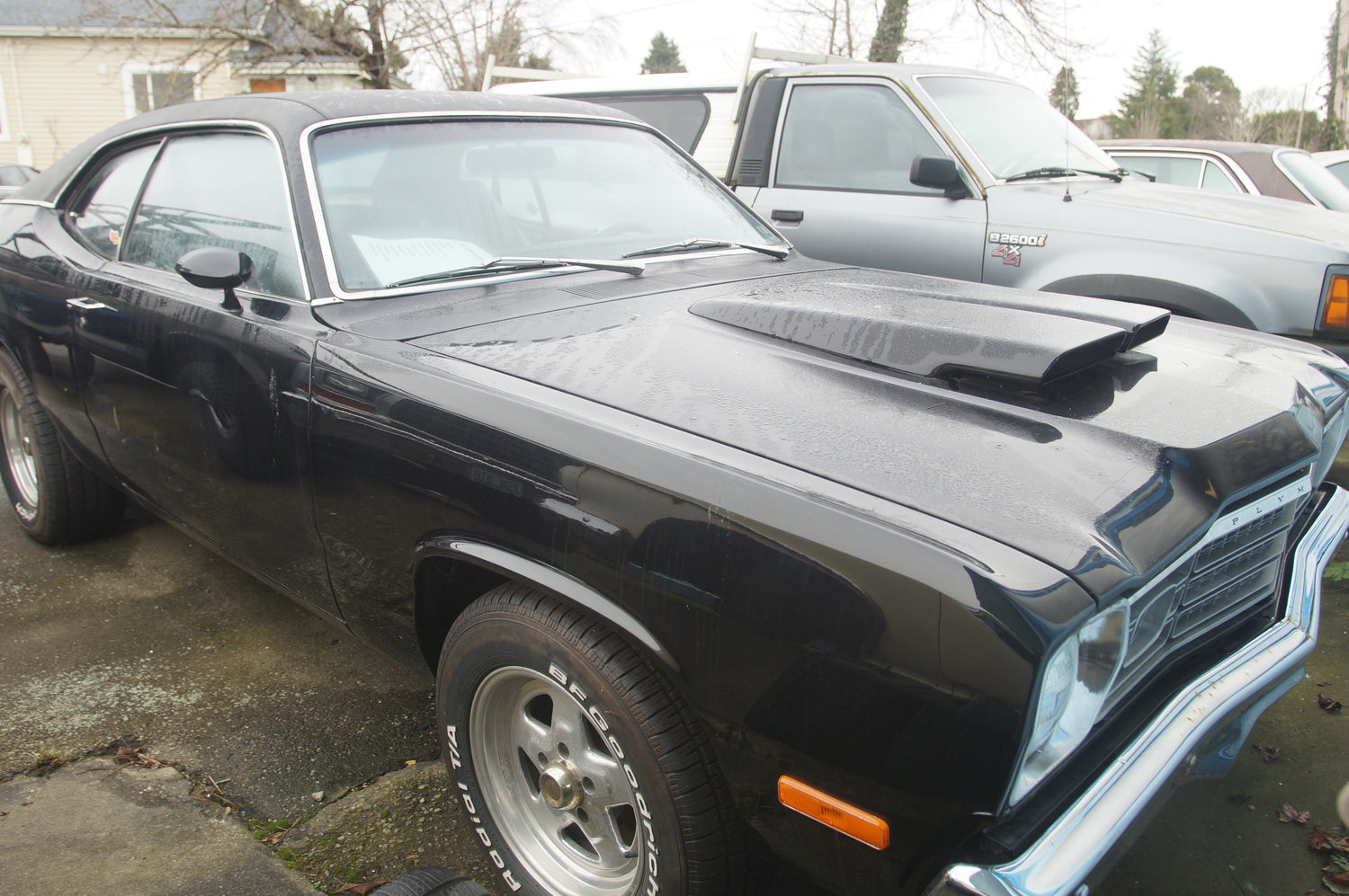 1973 Plymouth Duster.