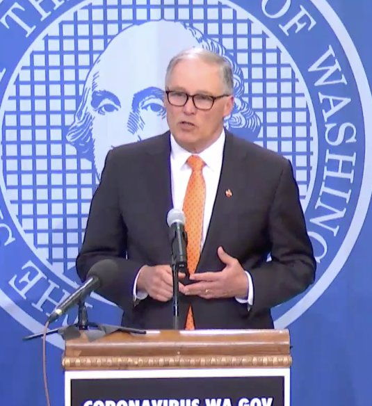 Inslee Extends Stay-at-home Order Until May 4