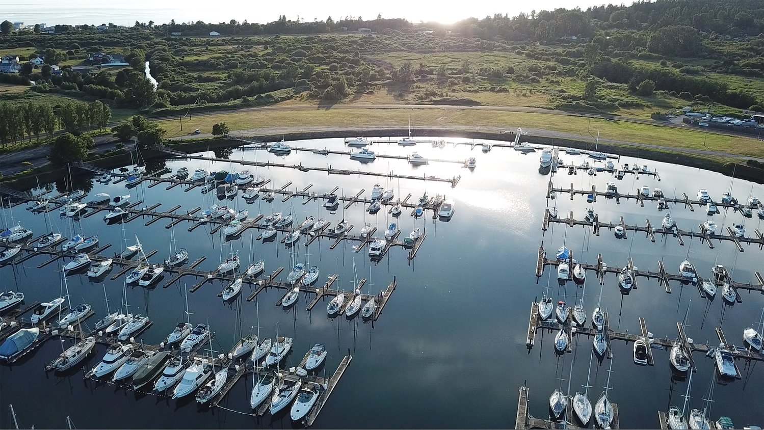 Canadian boaters mooring at the Point Roberts Marina have continued having their boats transported north.