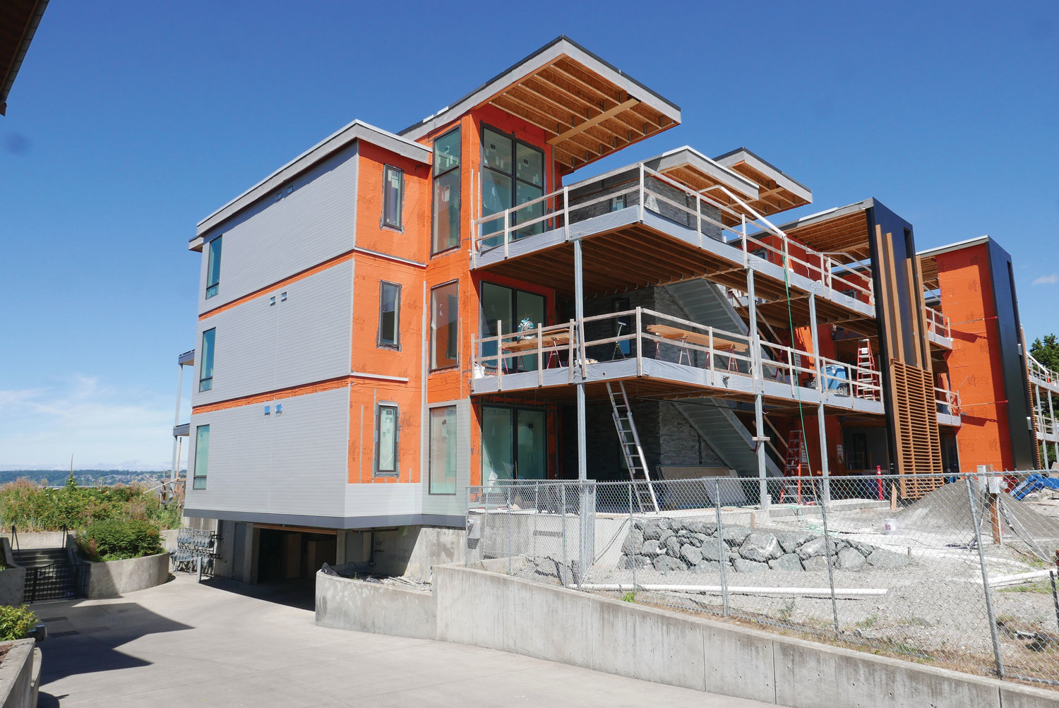The Firm Real Estate Services is currently marketing the Pacific Point Condominiums, on Semiahmoo Spit.