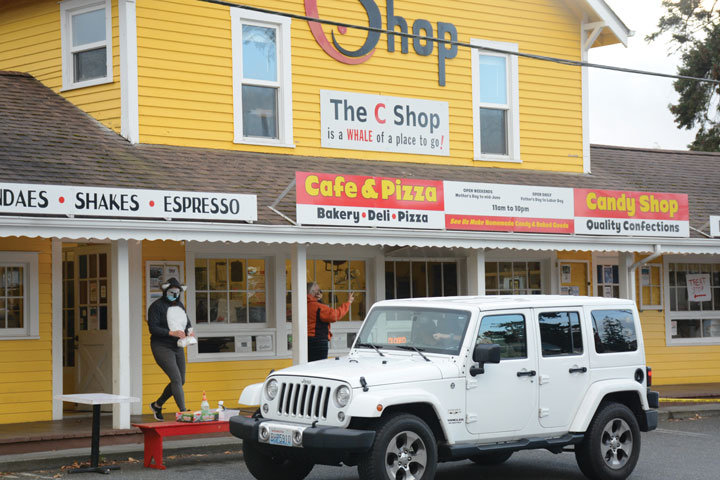 The C Shop takes part in the countywide Trip-or-Treat event on October 30.