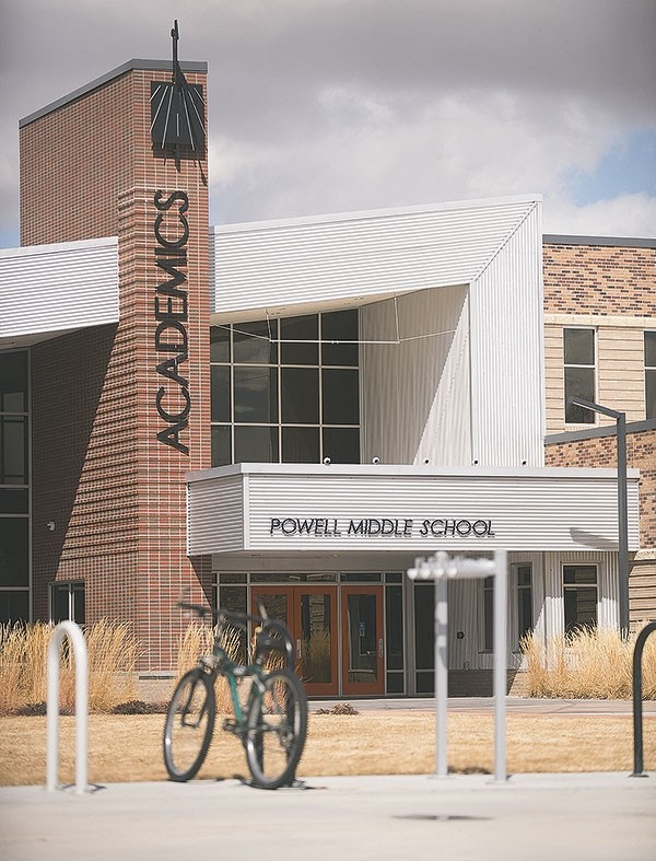 School and police officials say they received a report of a threat to Powell Middle School over the weekend. A student is now facing expulsion.