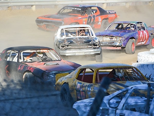 The Park County Fairgrounds played host to a series of races during the Nov. 12 'Dirt Madness for Matthews.' More races could be coming in 2017.