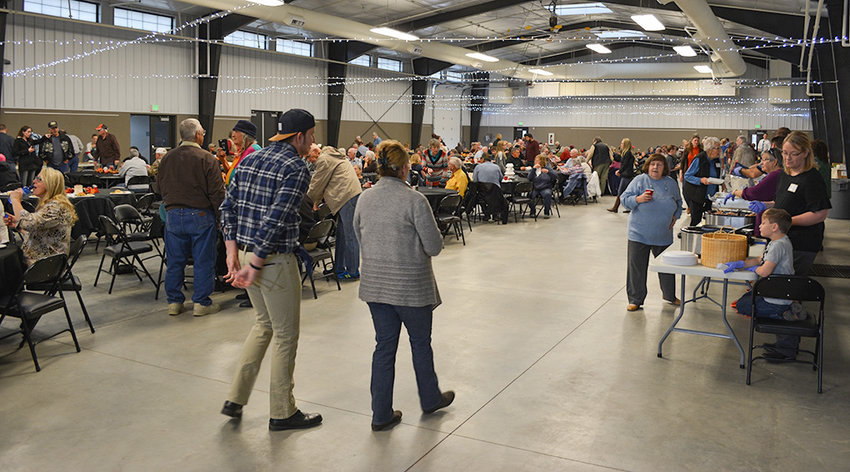Last year's Community Thanksgiving Dinner, based at the Park County Fairgrounds' Heart Mountain Hall, provided meals to roughly 500 people. Organizers are hoping to serve just as many people at this year's dinner, which will run from 11 a.m. to 1 p.m.