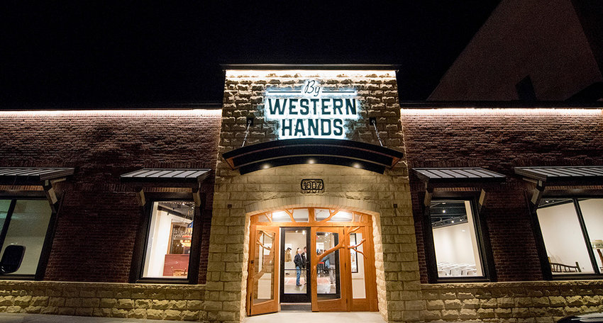 By Western Hands, a Cody-based nonprofit dedicated to promoting and preserving functional art inspired by the American West, has begun recruiting students for an internship program it developed in partnership with Northwest College. The nonprofit recently opened a facility in downtown Cody, shown above.